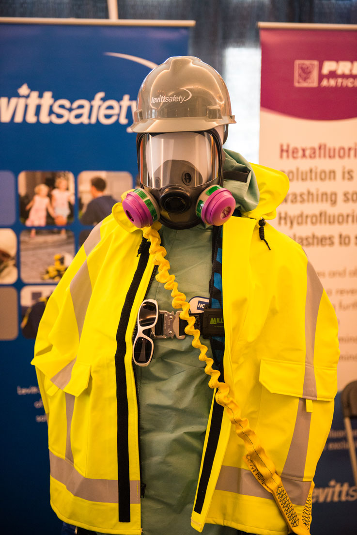 Booth at Health & Safety Conference