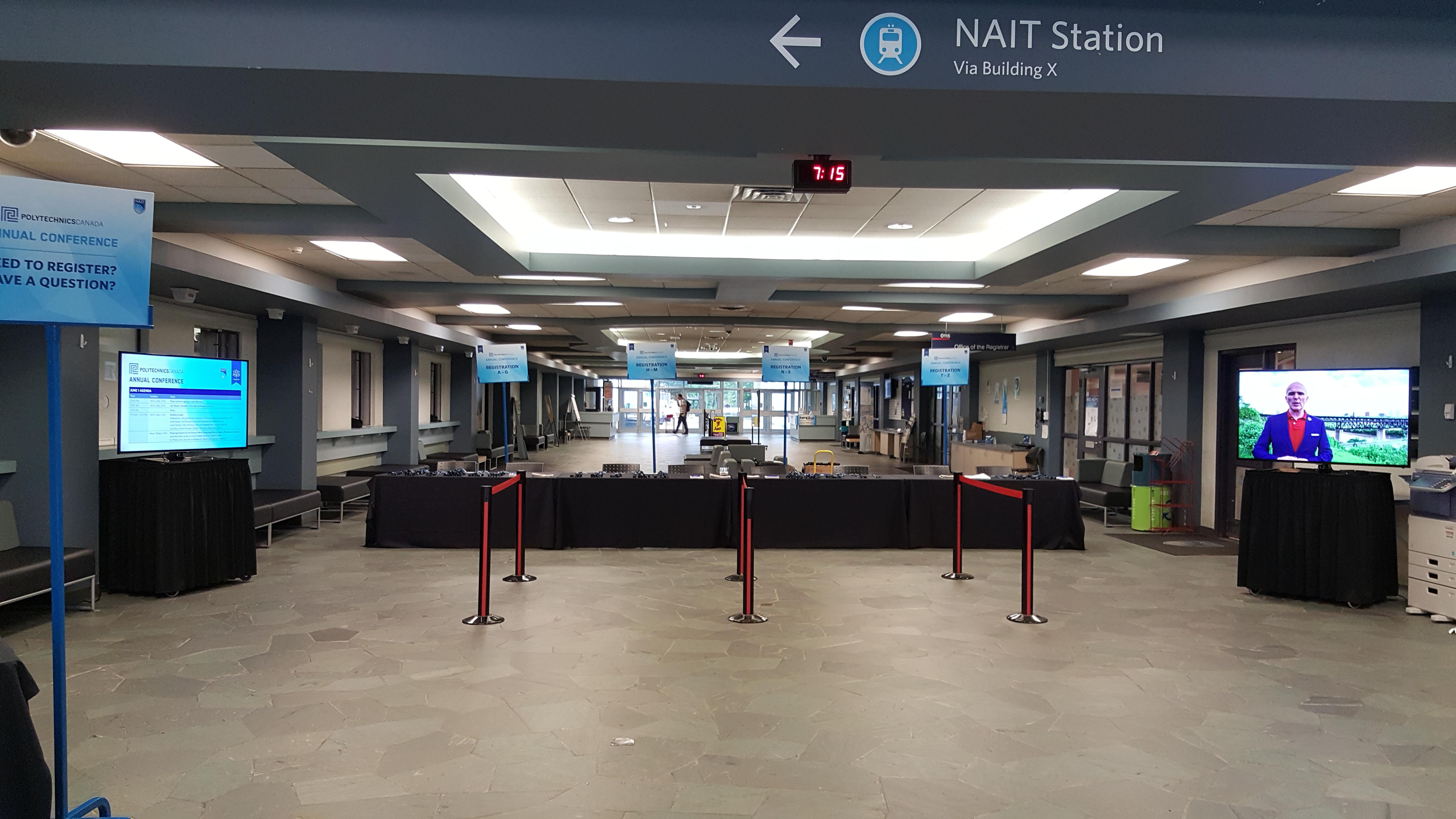 NAIT, Edmonton Station