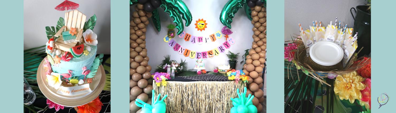 beach theme decorations