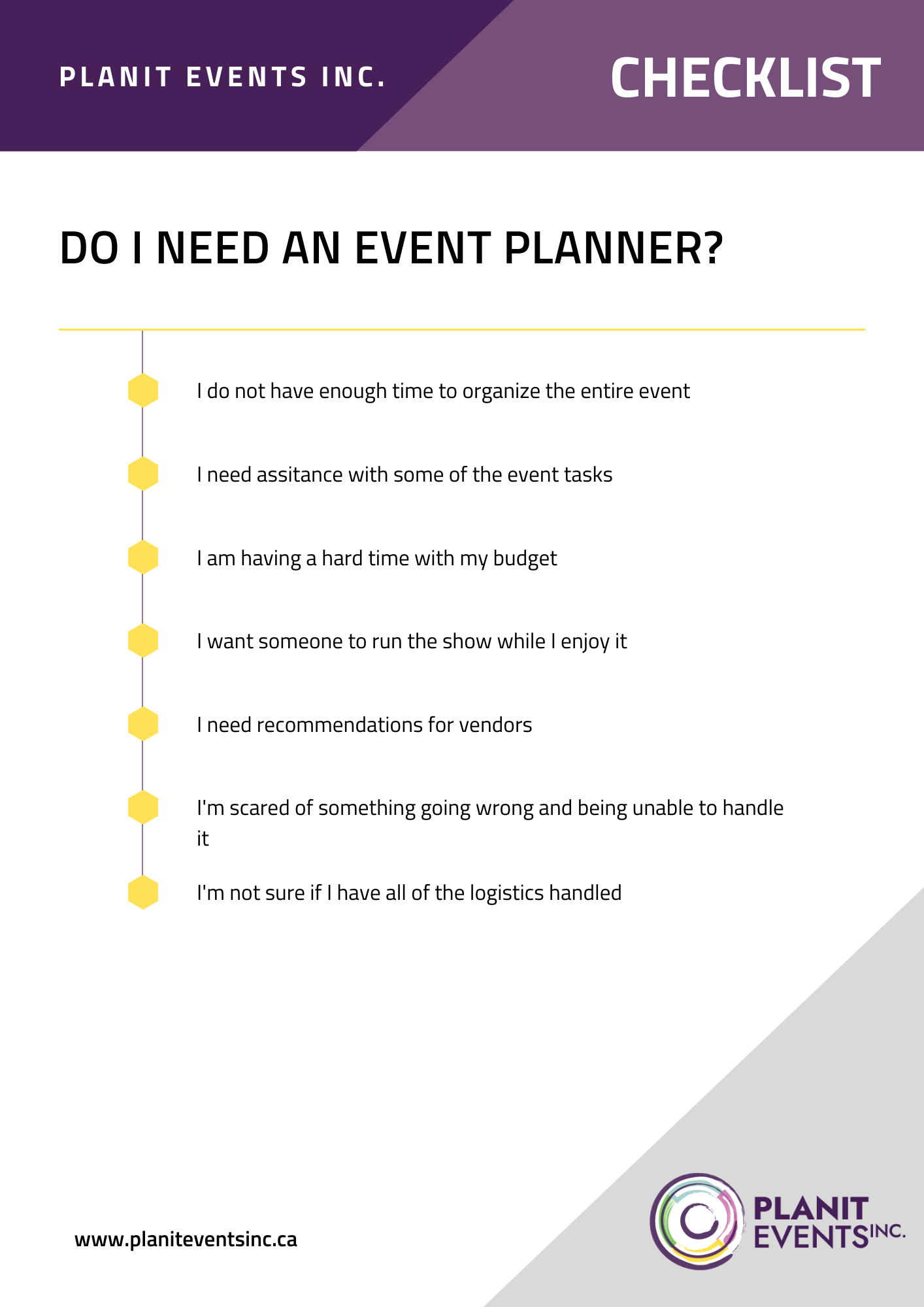 Do I Need an Event Planner Checklist